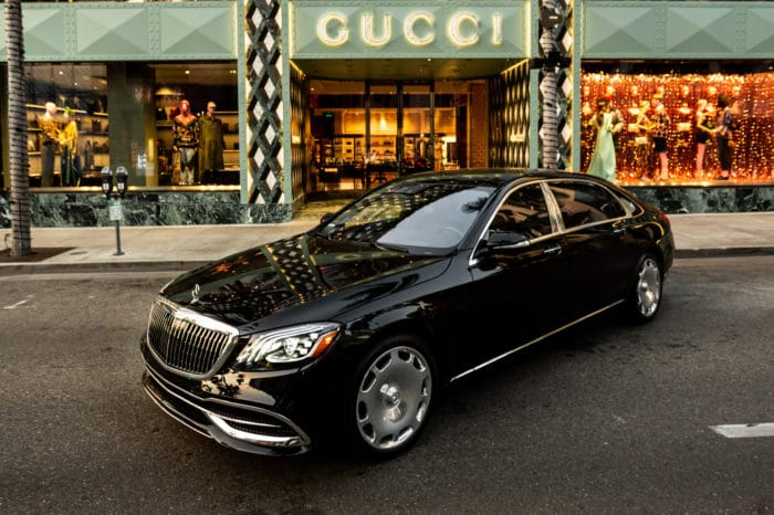 Mercedes S Maybach 560 with Driver