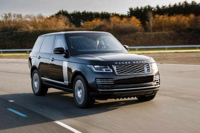 Range Rover Long Autobiography with Driver